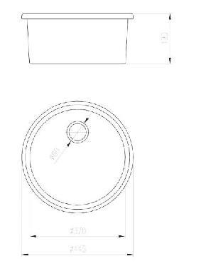 Deante Lusitano ZCL 680N