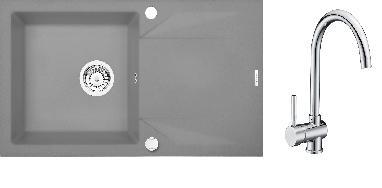 Set Deante Evora + Granit 5 - šedá+ch